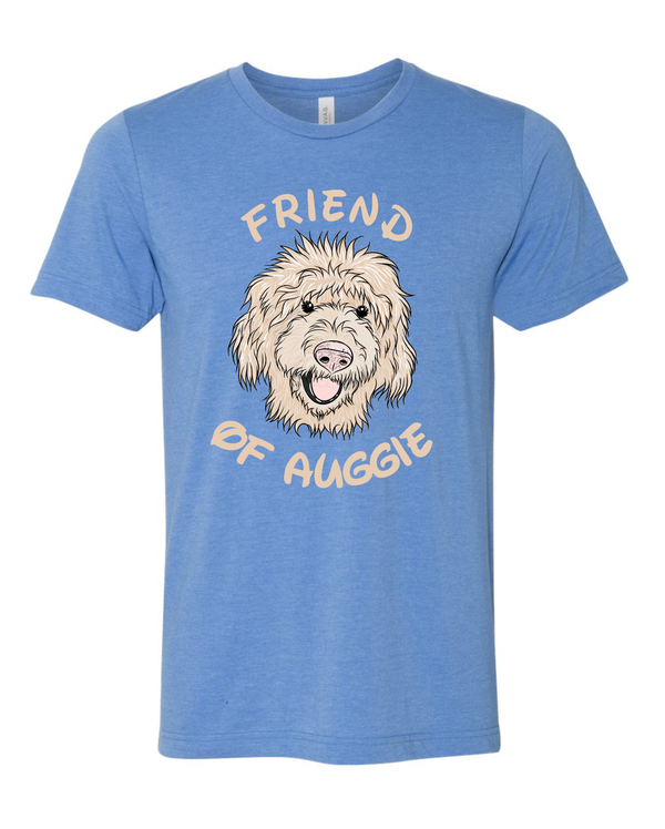 Adult Auggie BELLA+CANVAS  Unisex Heather CVC Short Sleeve Tee