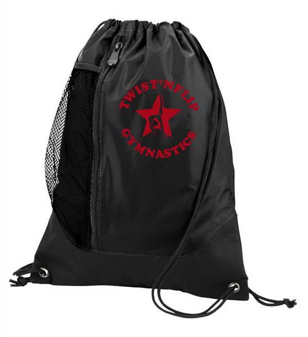 Twist 'N Flip Gymnastics Tres Drawstring Backpack