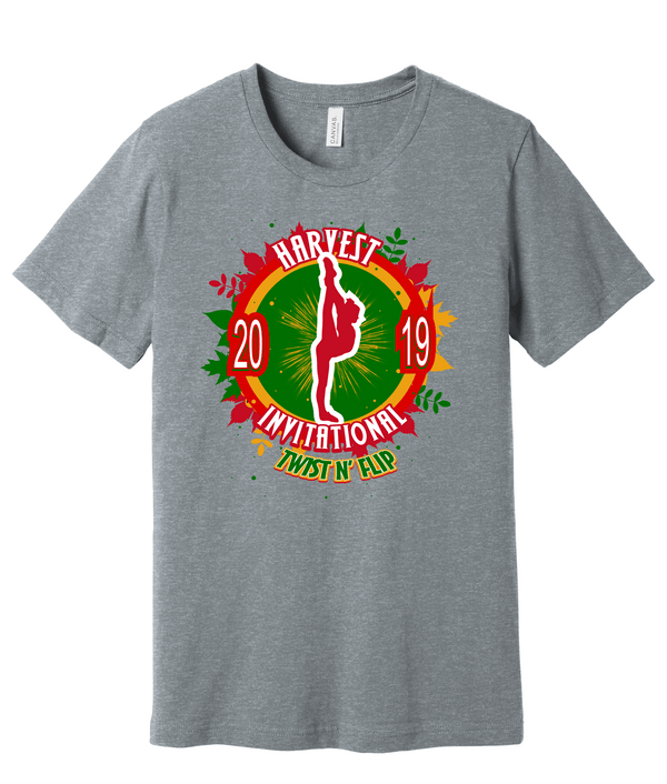 Adult Harvest Invitational Tee BELLA+CANVAS ® Unisex Heather CVC Short Sleeve Tee