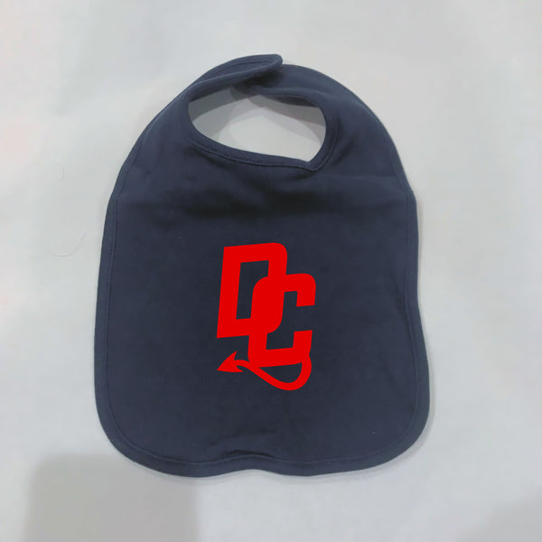 Cotton Devil Cats Bib