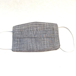 Pleated Cotton Face Masks with filter pocket