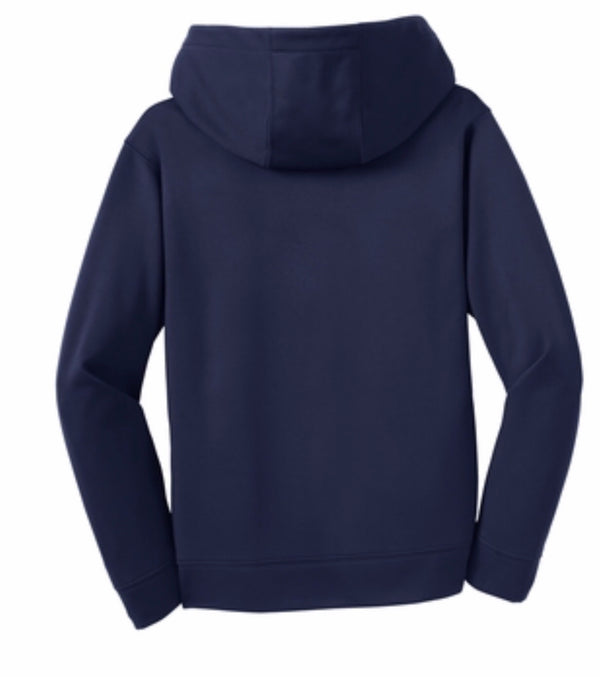 Warriors Sport-Tek® Youth Sport-Wick® Fleece Hooded Pullover