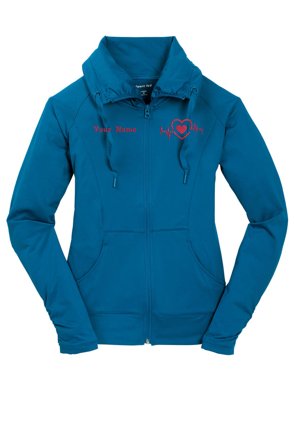 Ladies Sports Tek Zip Performance Jacket