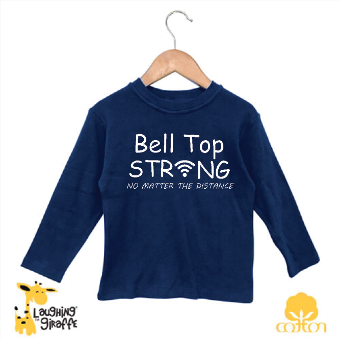 Bell Top Long Sleeve Toddler Tee