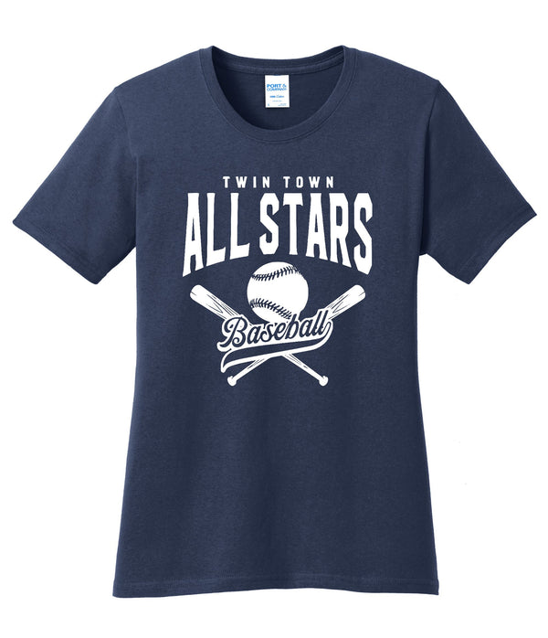 All Stars Port & Company® Ladies Core Cotton Tee