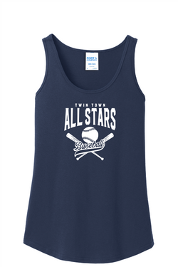 All Stars Port & Company® Ladies Core Cotton Tank Top
