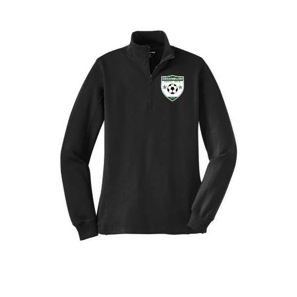 Greenbush Soccer Sport-Tek Ladies 1/4-Zip Sweatshirt