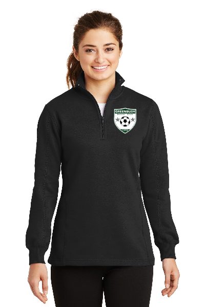 Greenbush Soccer Sport-Tek® Ladies 1/4-Zip Sweatshirt