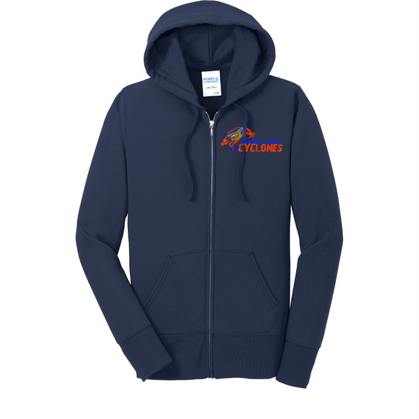 Cyclones Port & Company® Ladies Core Fleece Full-Zip Hooded Sweatshirt