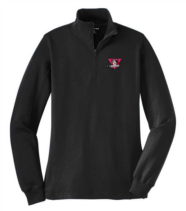 Troy Albany Sport-Tek Ladies 1/4-Zip Sweatshirt