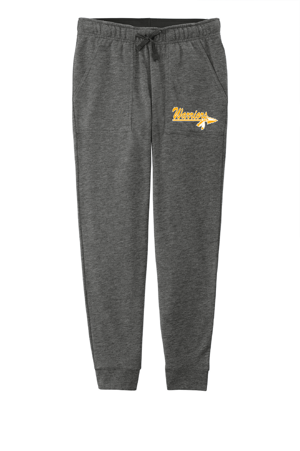 Warriors Ladies PosiCharge Tri-Blend Wicking Fleece Jogger