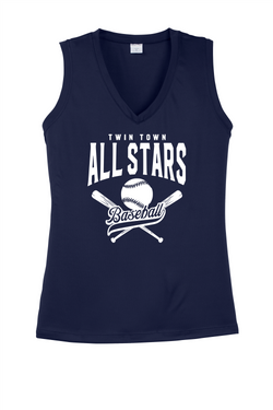 All Stars Sports Tek Ladies V-Neck Tank