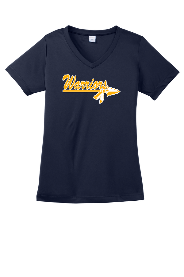 Warriros Sport-Tek Ladies PosiCharge Competitor V-Neck Tee