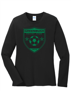 Greenbush Soccer Ladies Long Sleeve Core Cotton Tee