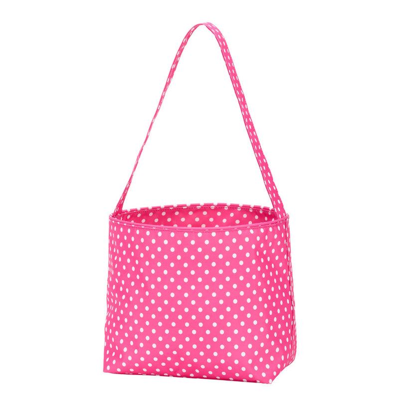 Pink Polka Dot Bucket