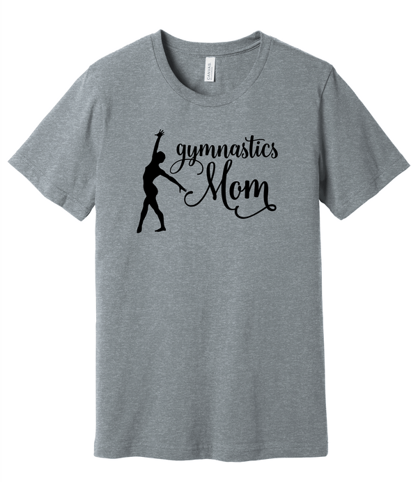 Gymnastics Mom BELLA+CANVAS ® Unisex Heather CVC Short Sleeve Tee