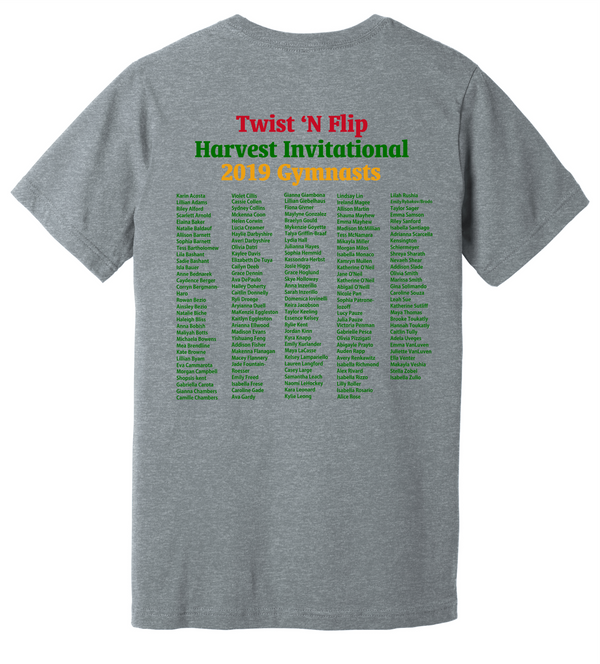 Youth Harvest Invitational Tee BELLA+CANVAS ® Unisex Heather CVC Short Sleeve Tee