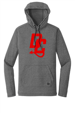 Devil Cats New Era® Tri-Blend Performance Pullover Hoodie Tee