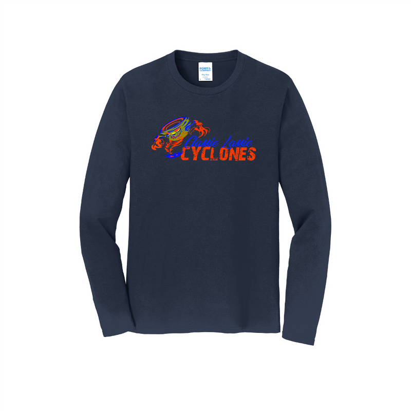 Cyclones Port & Company® Long Sleeve Fan Favorite™ Tee