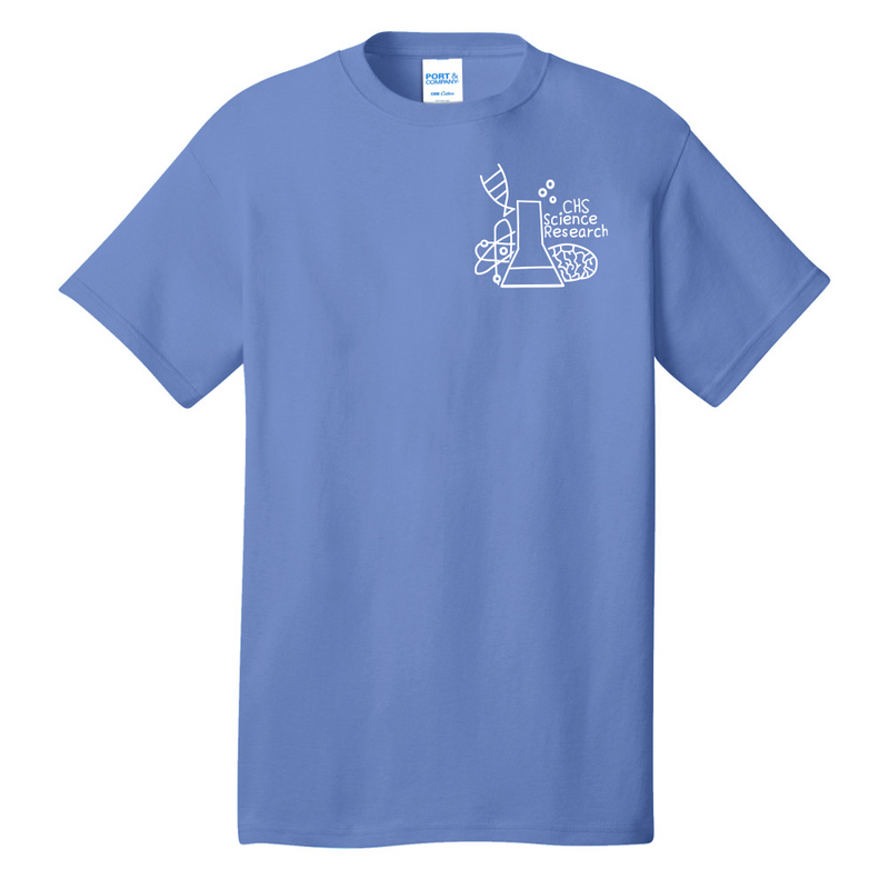 Senior Columbia Science Core Cotton Tee