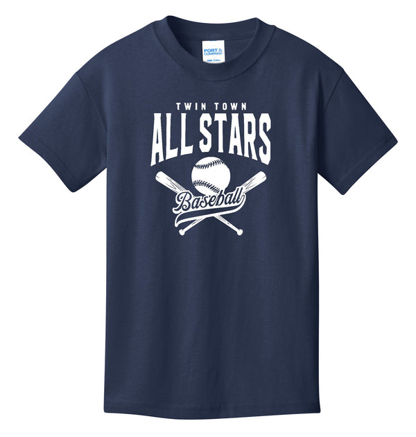 All Stars Port & Company® - Youth Core Cotton Tee