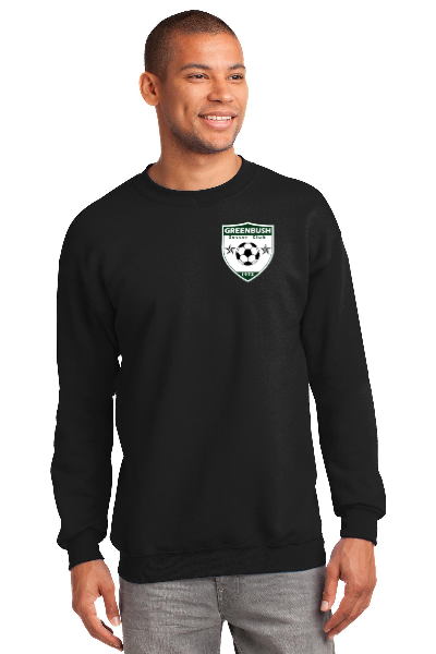 Greenbush Soccer Unisex Port & Company Core Fleece Crewneck Sweatshirt
