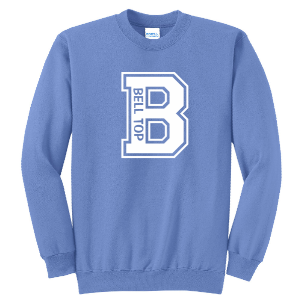 Bell Top Unisex Youth Port & Company Core Fleece Crewneck Sweatshirt