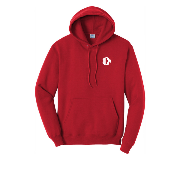 Twist 'N Flip Core Fleece Pullover Hooded Sweatshirt