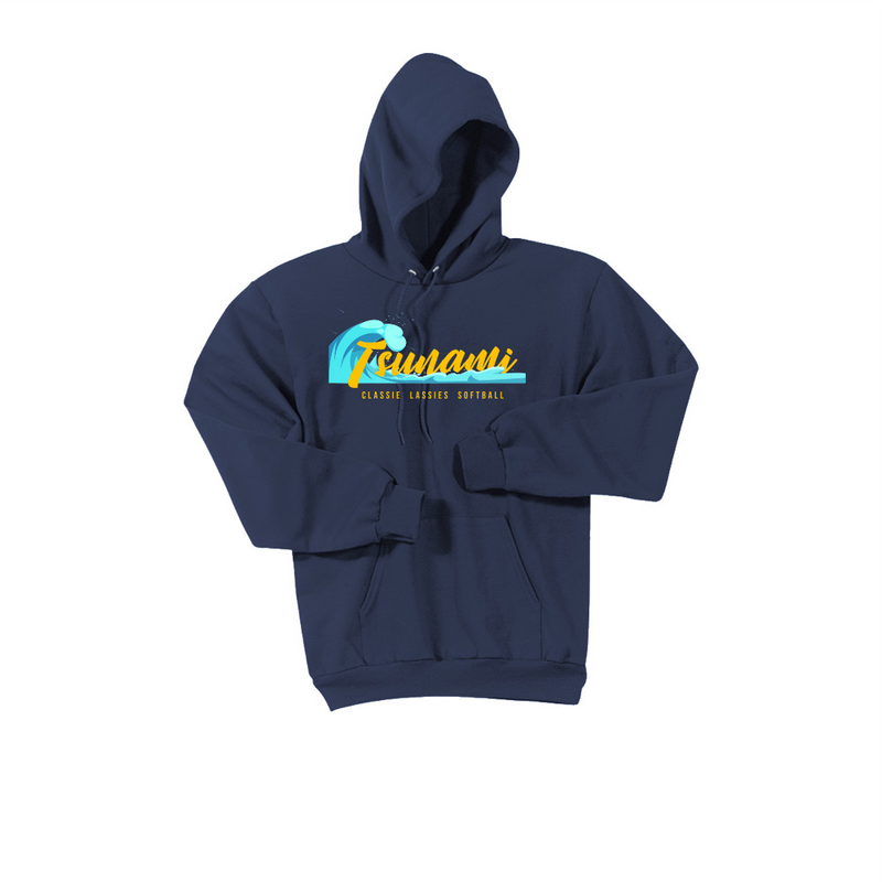 Tsunami Port and Company Essential Fleece Hoodie
