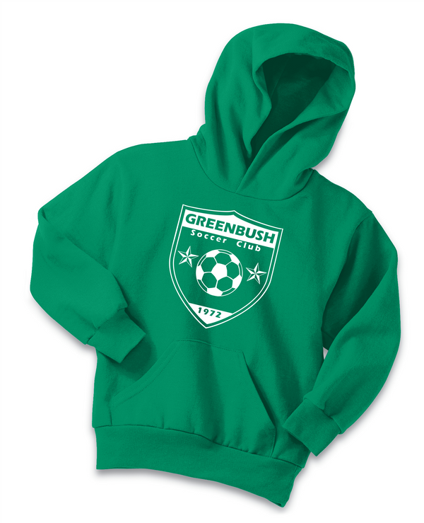 Greenbush Soccer Port & Company® - Youth Core Fleece Pullover Hooded Sweatshirt