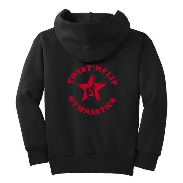Twist 'N Flip Gymnastics Core Fleece Pullover Hooded Sweatshirt
