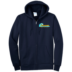 Tsunami Port & Company® - Essential Fleece Full-Zip Hooded Sweatshirt
