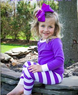 Purple Pajamas Set