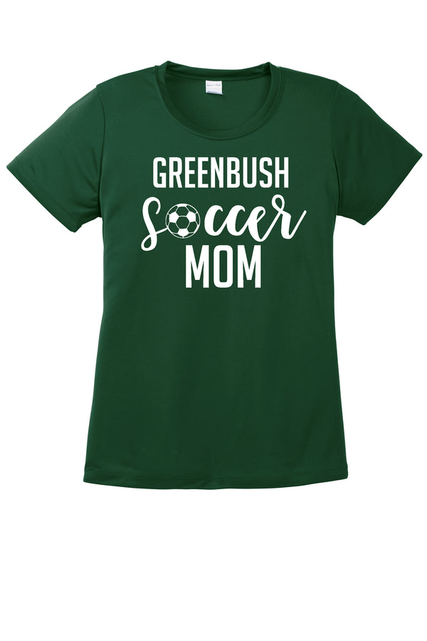 Ladies Fit Performance Greenbush Soccer Tee