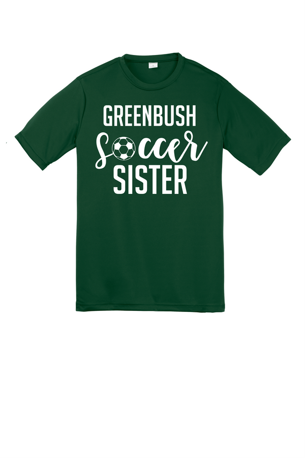 Greenbush Soccer Youth Sister Sport-Tek Performance Tee