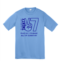 Bell Top 5th Grade Youth Sport-Tek Performance Tee