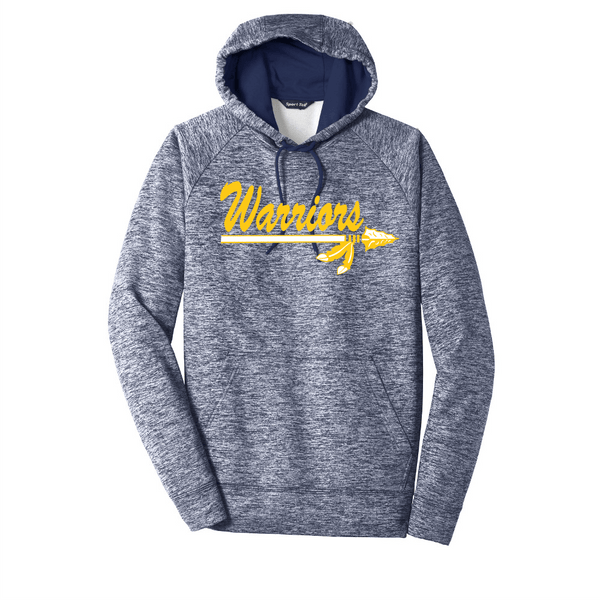 Warriors Electric Heather Adult Hoodie