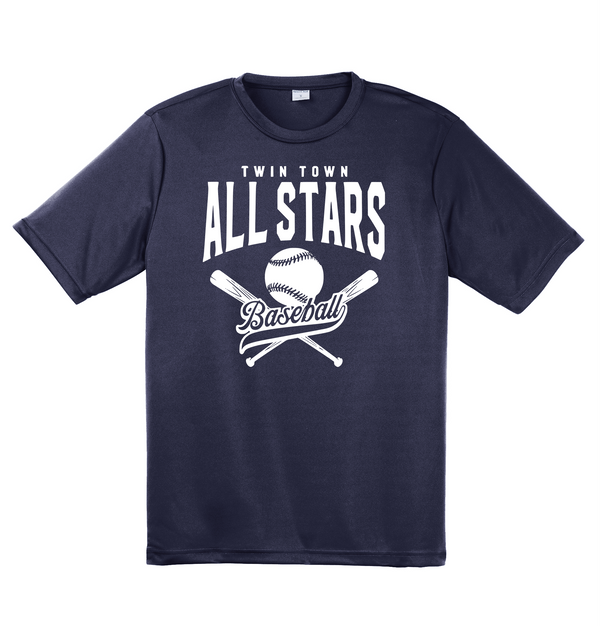 All Stars Adult Sport-Tek Performance Tee