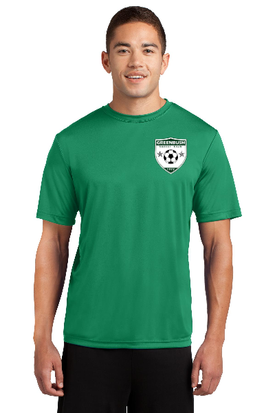 Adult Greenbush Soccer Sport Tek Performance Tee