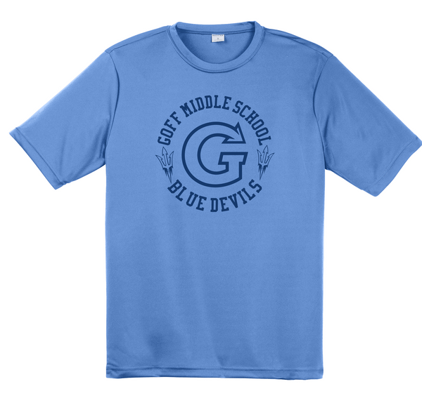 Goff Youth Sport-Tek Performance Tee