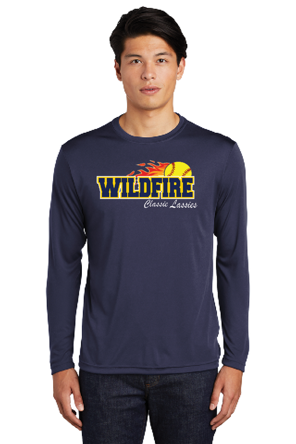 Wildfire Sport-Tek Long Sleeve PosiCharge Competitor Tee