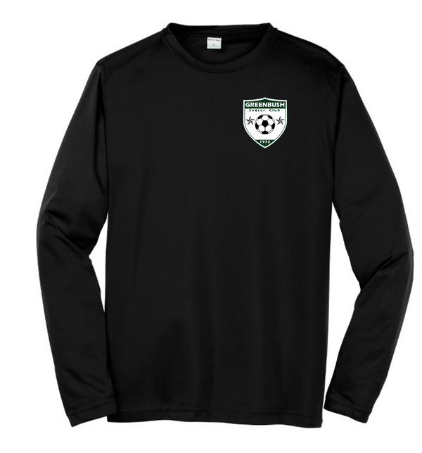 Greenbush Soccer Sport-Tek Adult Long Sleeve PosiCharge Competitor Tee