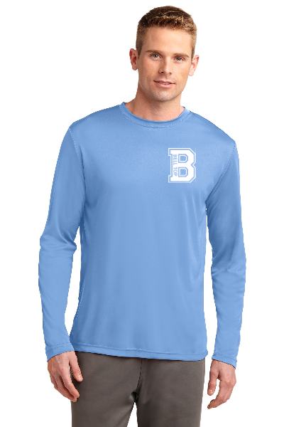 Bell Top Sport-Tek Adult & Youth Size Long Sleeve PosiCharge Competitor Tee