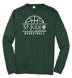 St. Jude Basketball Adult & Youth Sport-Tek®Long Sleeve PosiCharge® Competitor™ Tee