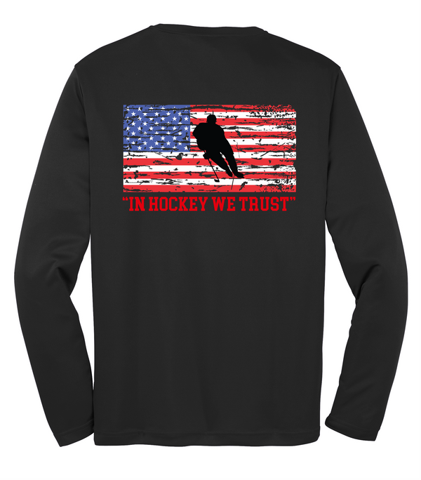 Long Sleeve PosiCharge Competitor Tee Adult & Youth