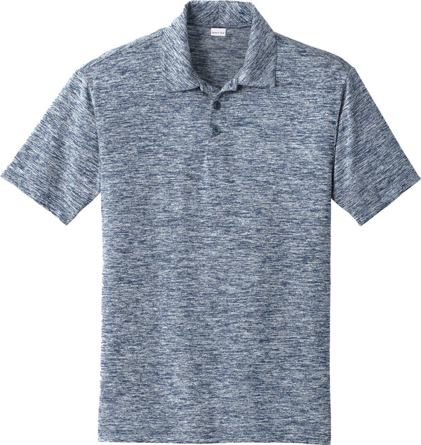 Sport-Tek® PosiCharge® Electric Heather Polo
