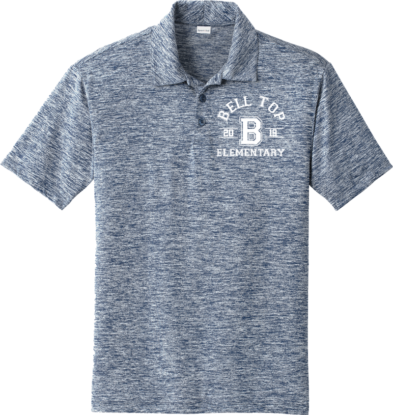Bell Top Sport-Tek® PosiCharge® Electric Heather Polo