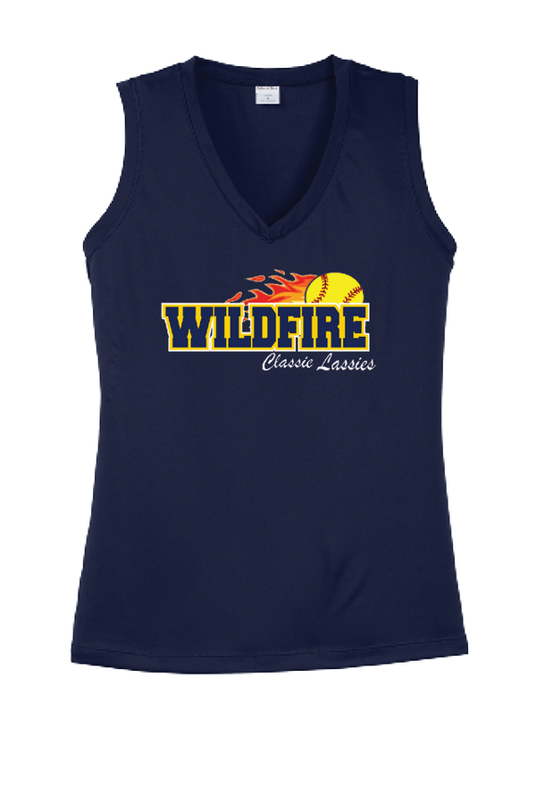 Wildfire Sports Tek Ladies V-Neck Tank