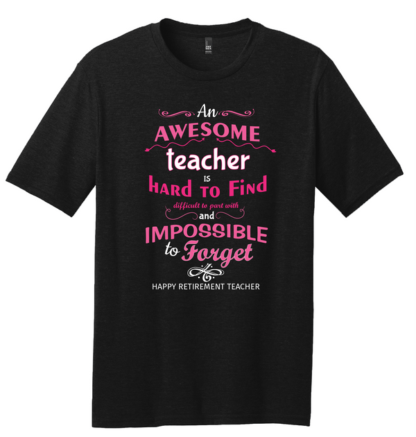 Awesome Teacher Unisex Tee