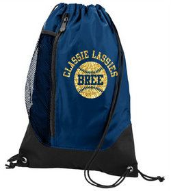 Classie Lassie Personalized Augusta Tres Drawstring Backpack